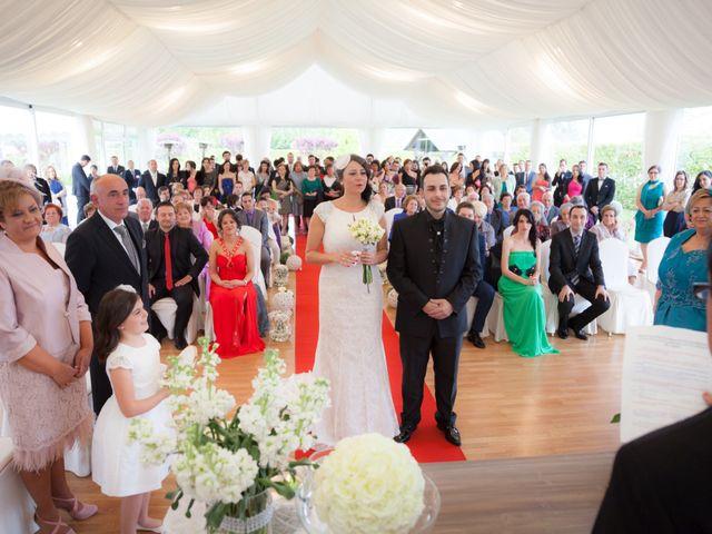 La boda de Pablo y Berta en Goiriz, Lugo 7