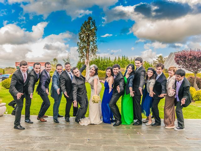 La boda de Pablo y Berta en Goiriz, Lugo 12