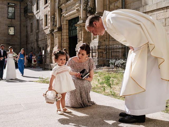 La boda de Pablo y Ana en Nogueira De Ramuin, Orense 7