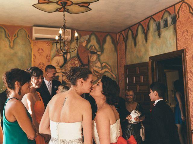 La boda de Esme y Janine en Arroyo De La Encomienda, Valladolid 67