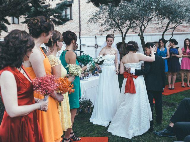 La boda de Esme y Janine en Arroyo De La Encomienda, Valladolid 69