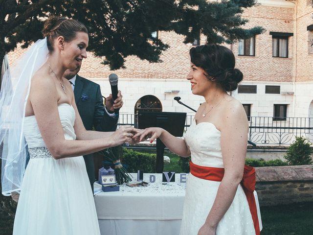La boda de Esme y Janine en Arroyo De La Encomienda, Valladolid 76