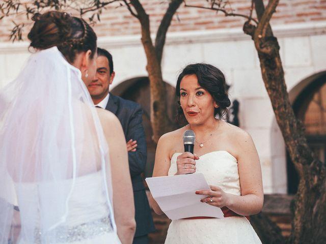 La boda de Esme y Janine en Arroyo De La Encomienda, Valladolid 79