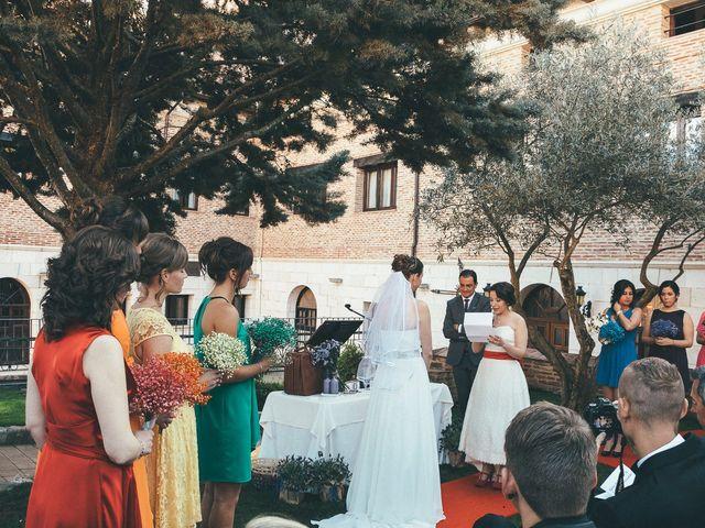 La boda de Esme y Janine en Arroyo De La Encomienda, Valladolid 80
