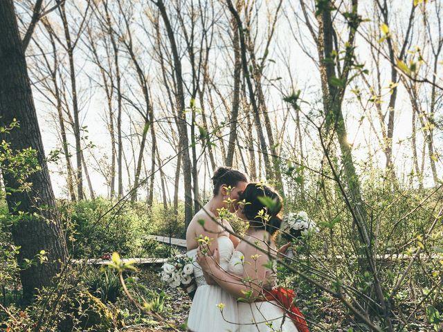 La boda de Janine y Esme