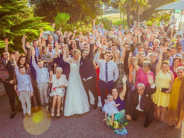 La boda de Juan y Silvia en Baiona, Pontevedra 53