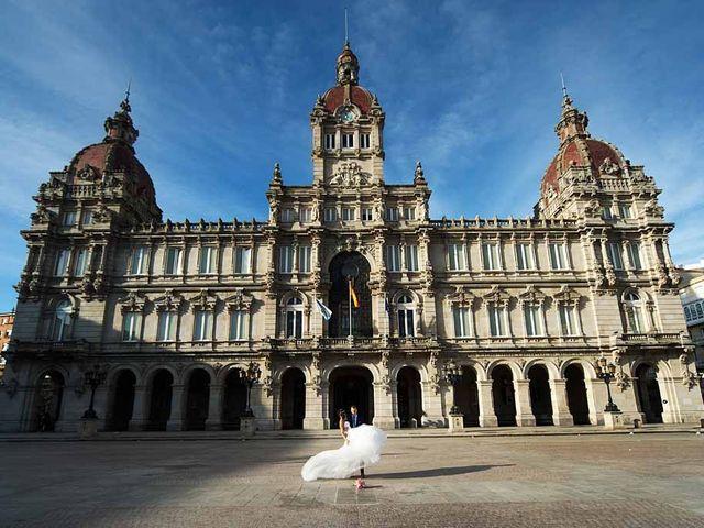 La boda de David y Mineia en A Coruña, A Coruña 12