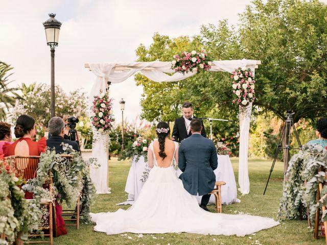 La boda de Monica y Manuel en Sanlucar De Barrameda, Cádiz 34