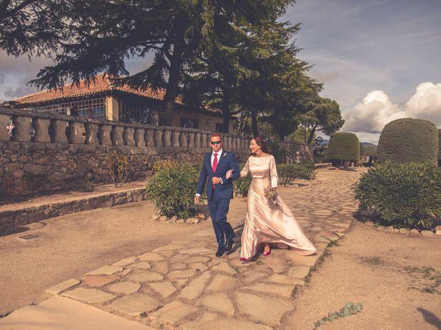 La boda de Yolanda y Alejandro en Torrelodones, Madrid 12