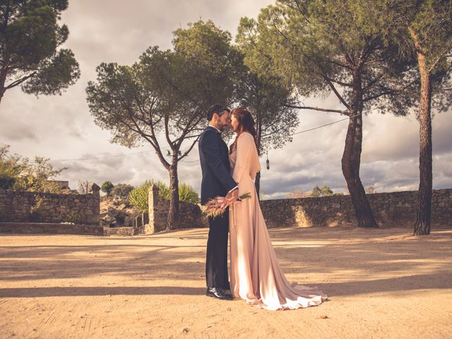 La boda de Yolanda y Alejandro en Torrelodones, Madrid 49