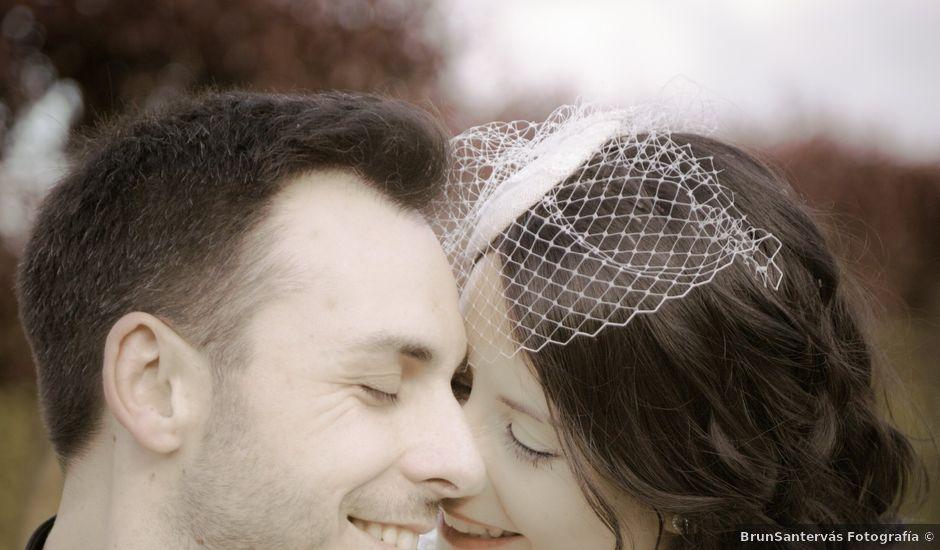 La boda de Pablo y Berta en Goiriz, Lugo