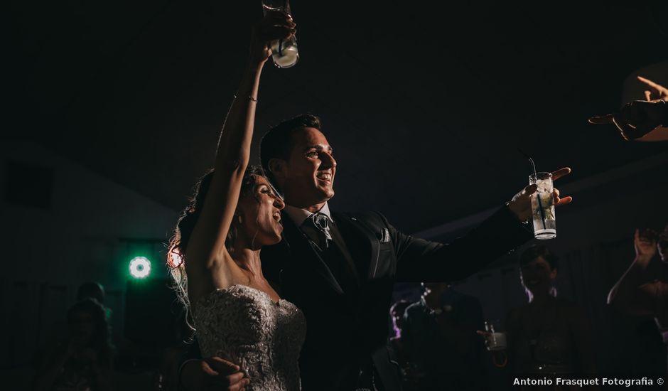 La boda de Javier y Leticia en Benissa, Alicante