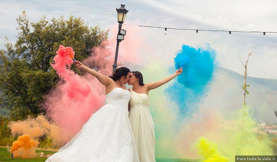 La boda de Susana y Mónica en Collado Villalba, Madrid