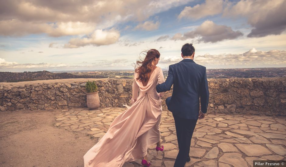 La boda de Yolanda y Alejandro en Torrelodones, Madrid