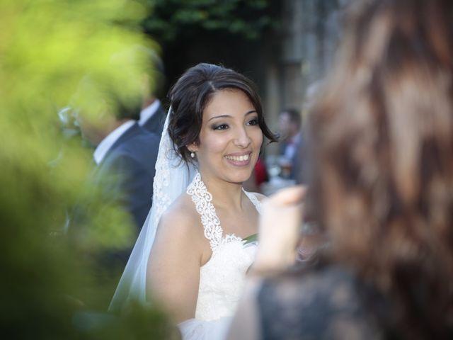 La boda de Alfonso y Lorena en Lestrobe, A Coruña 2