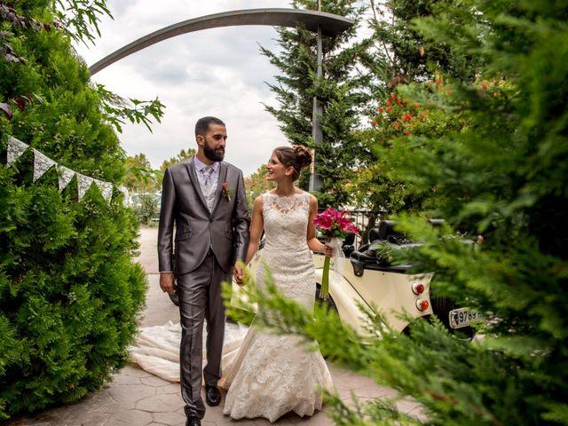 La boda de Alba y David en Palau De Plegamans, Barcelona 1