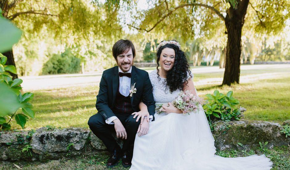 La boda de Lele y Luci en Nigran, Pontevedra