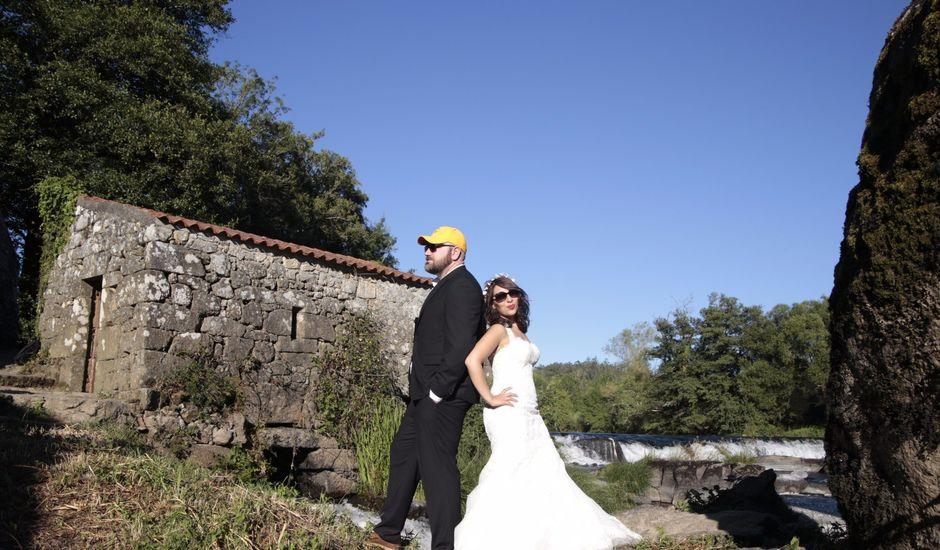 La boda de Alfonso y Lorena en Lestrobe, A Coruña