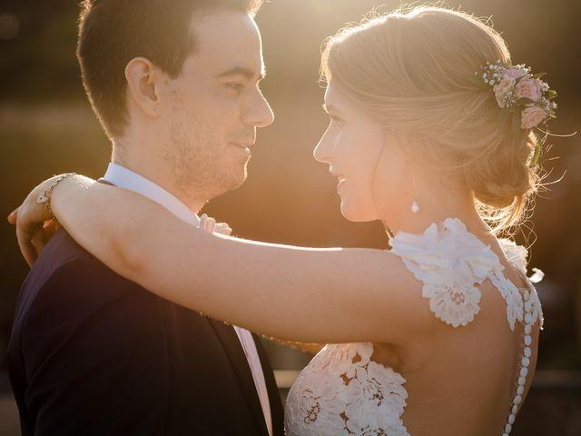 La boda de Claire y Xavier