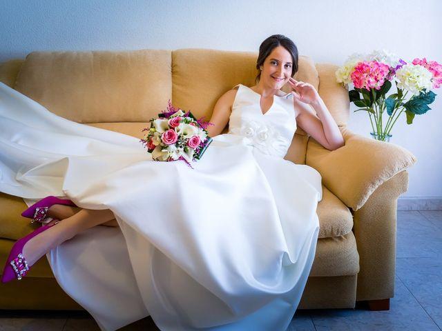 La boda de Santi y Laura en Baños De Cerrato, Palencia 15