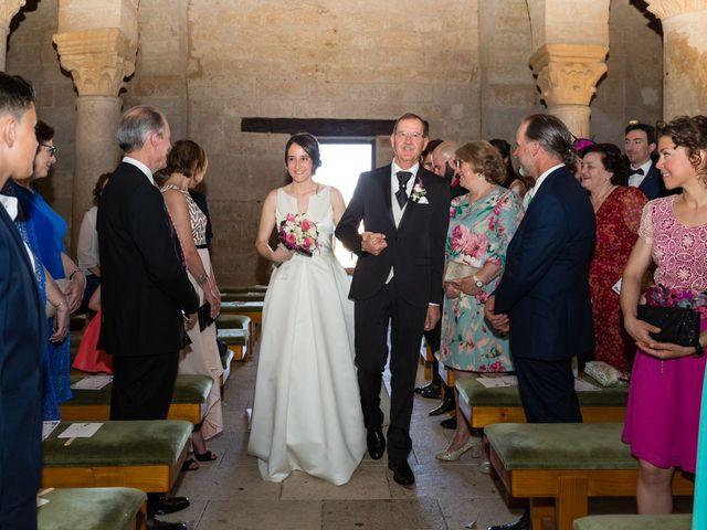 La boda de Santi y Laura en Baños De Cerrato, Palencia 28