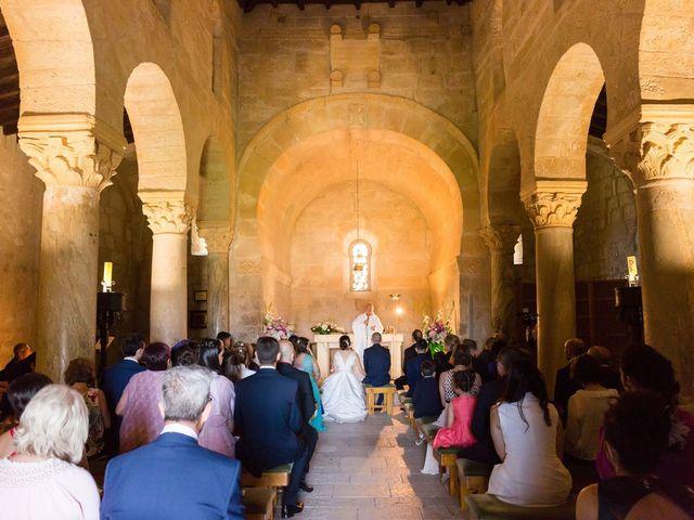 La boda de Santi y Laura en Baños De Cerrato, Palencia 32
