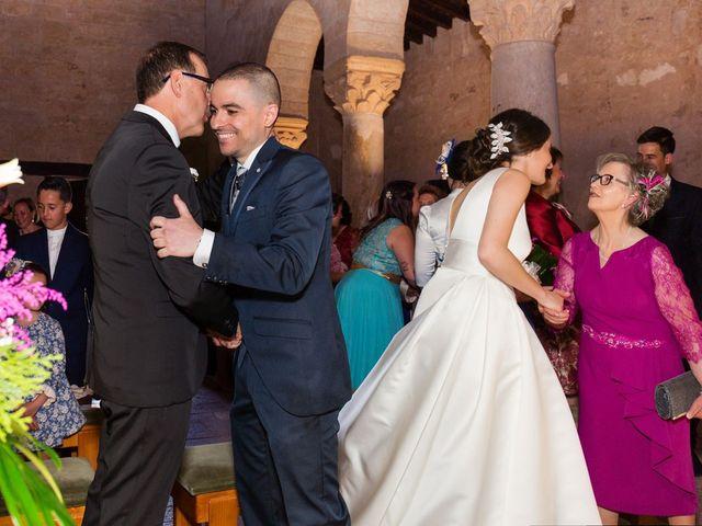 La boda de Santi y Laura en Baños De Cerrato, Palencia 36