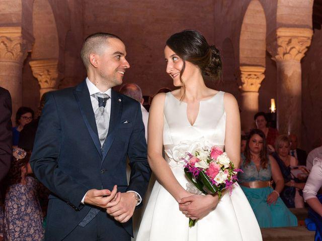 La boda de Santi y Laura en Baños De Cerrato, Palencia 37