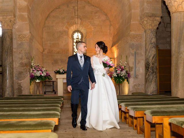 La boda de Santi y Laura en Baños De Cerrato, Palencia 39