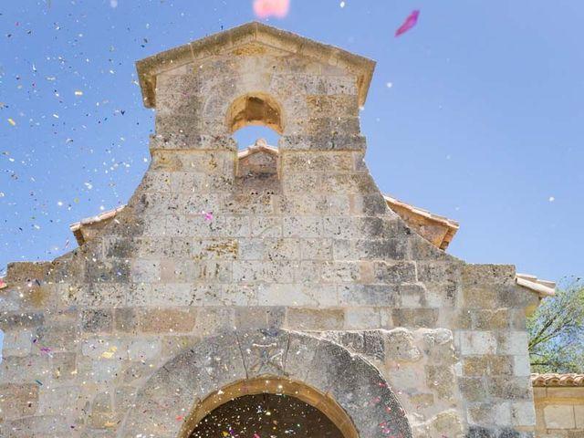 La boda de Santi y Laura en Baños De Cerrato, Palencia 40