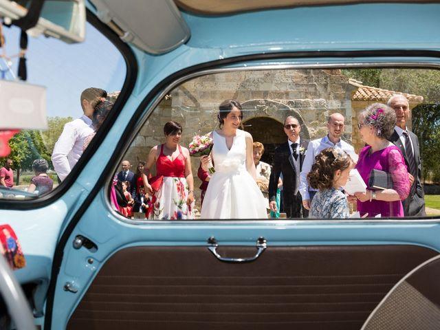 La boda de Santi y Laura en Baños De Cerrato, Palencia 1