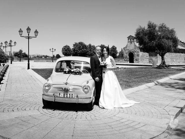 La boda de Santi y Laura en Baños De Cerrato, Palencia 43