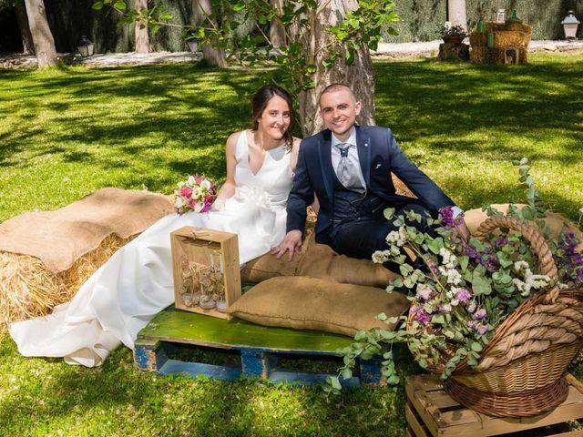 La boda de Santi y Laura en Baños De Cerrato, Palencia 56