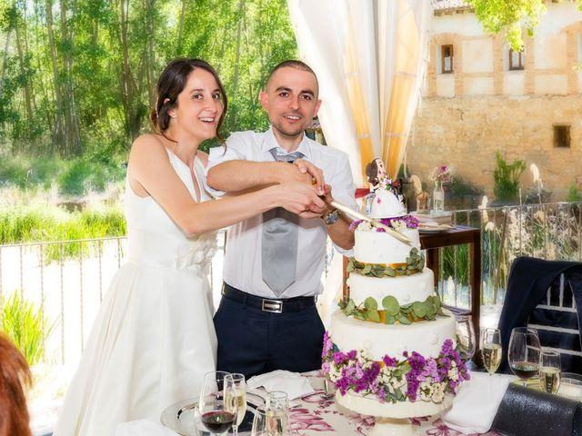 La boda de Santi y Laura en Baños De Cerrato, Palencia 62