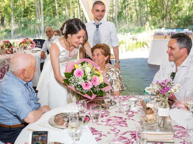 La boda de Santi y Laura en Baños De Cerrato, Palencia 65
