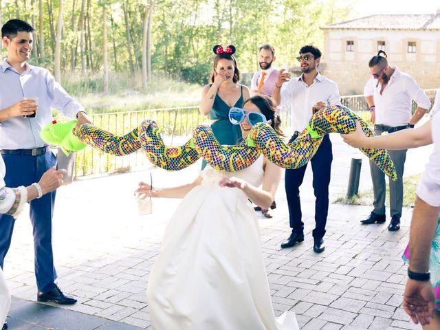 La boda de Santi y Laura en Baños De Cerrato, Palencia 80