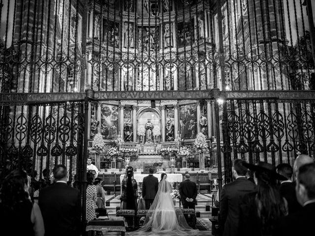 La boda de Fernando y Nadia en Guadalupe, Cáceres 9
