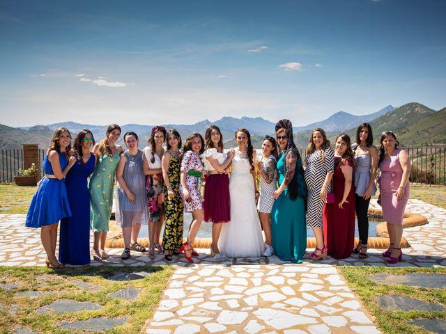 La boda de Fernando y Nadia en Guadalupe, Cáceres 20