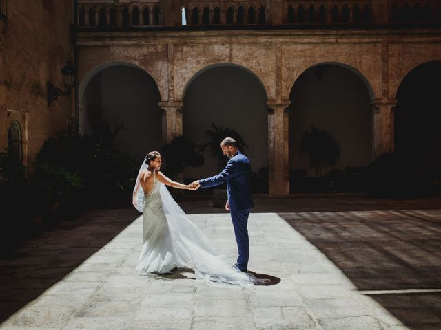 La boda de Fernando y Nadia en Guadalupe, Cáceres 29