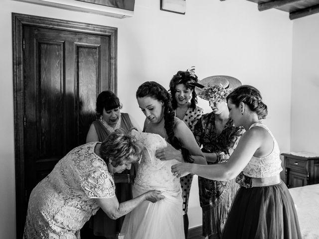 La boda de Fernando y Nadia en Guadalupe, Cáceres 51