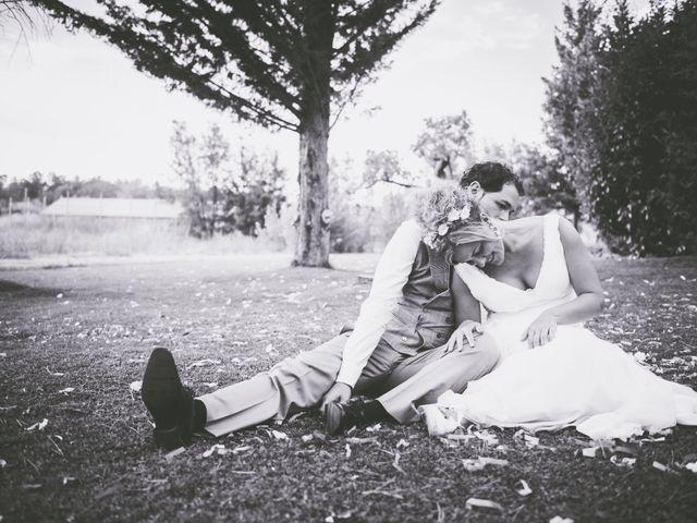 La boda de Leire y Joseba