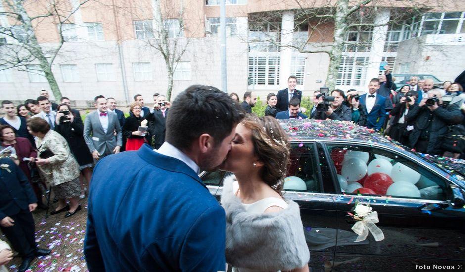La boda de Carlos y Fatima en Santiago De Compostela, A Coruña