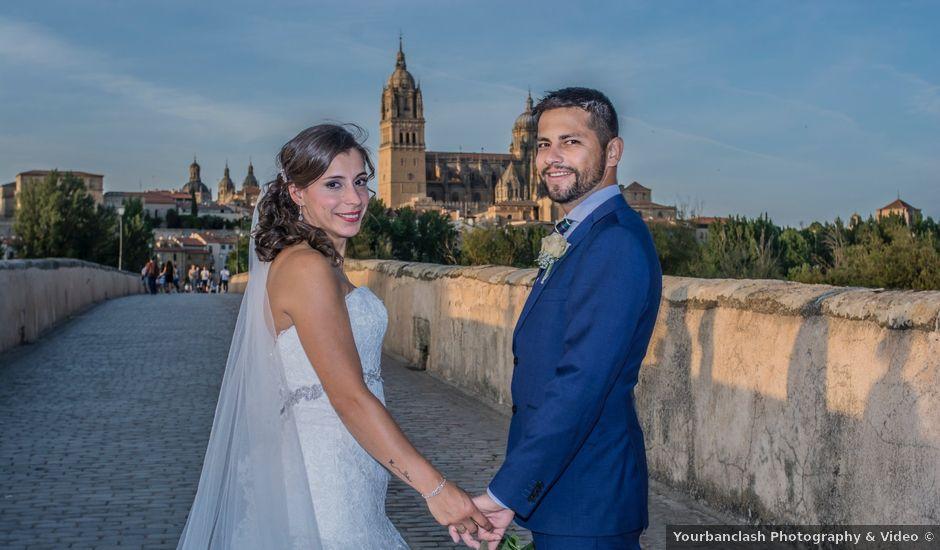 La boda de Nacho y Sofia en Salamanca, Salamanca