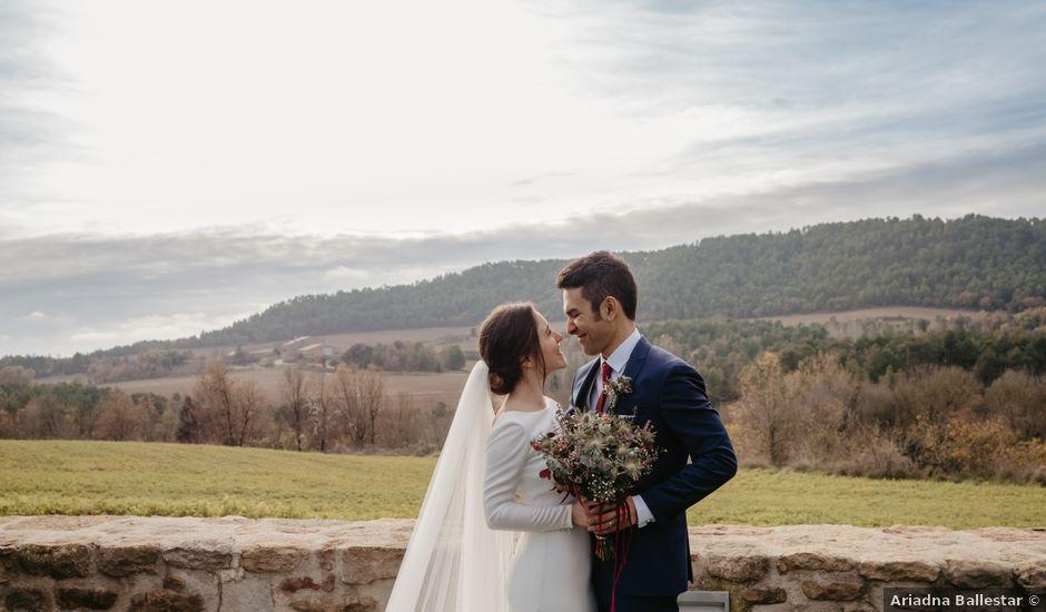 La boda de Esmail y Marta en Solsona, Lleida
