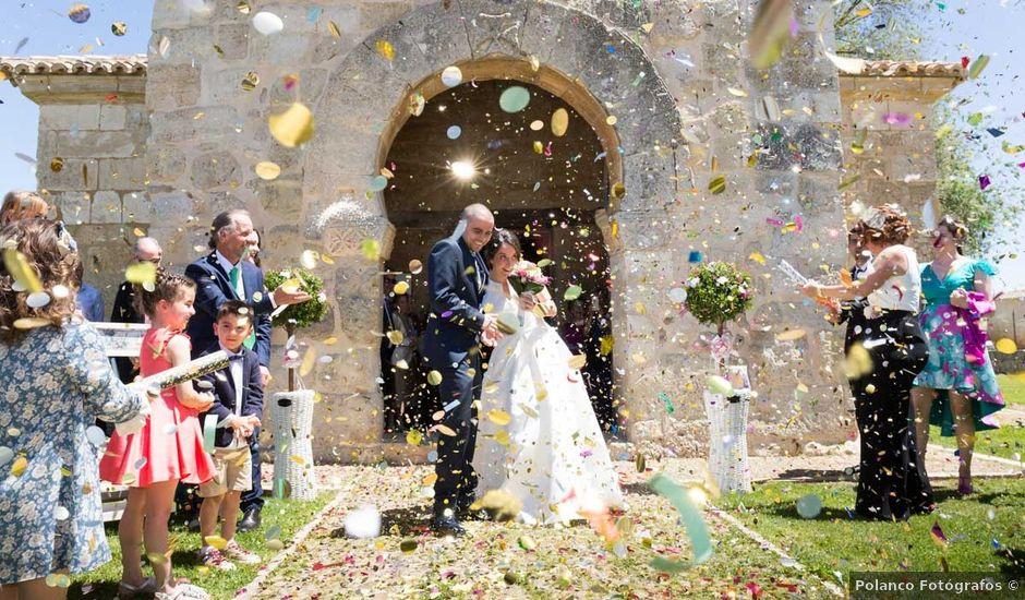 La boda de Santi y Laura en Baños De Cerrato, Palencia