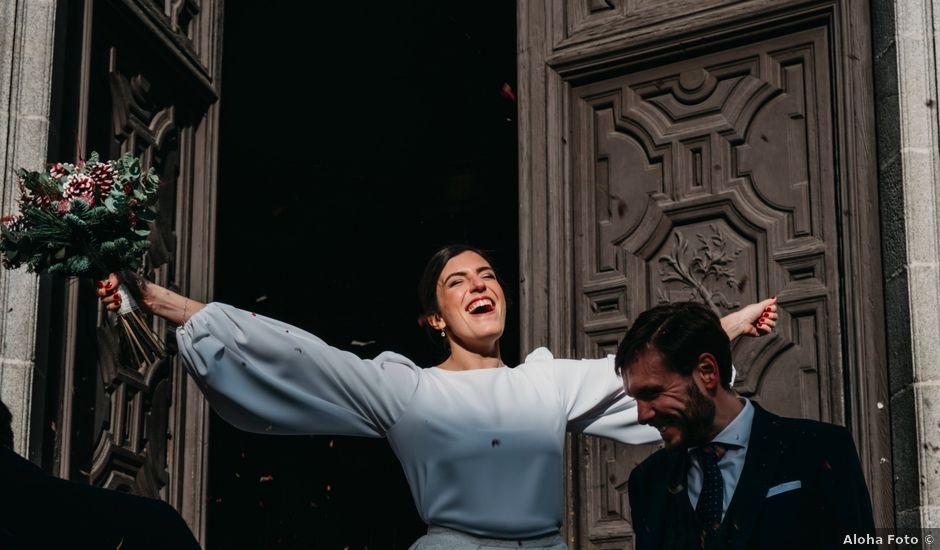 La boda de Alberto y María en Madrid, Madrid