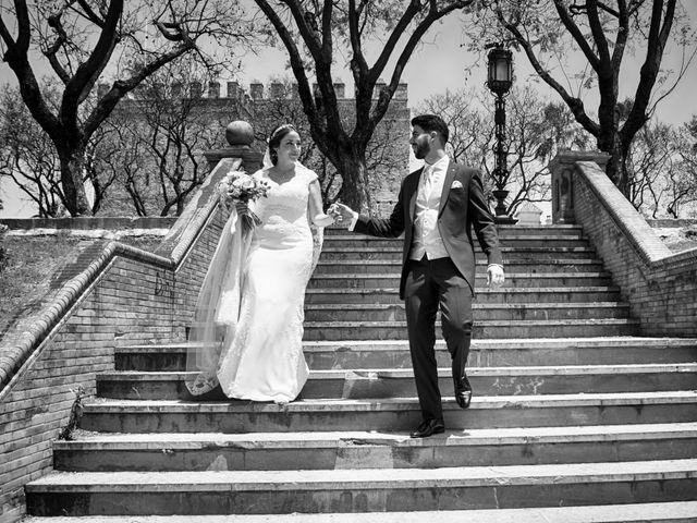 La boda de Samuel y Gloria en Jerez De La Frontera, Cádiz 33
