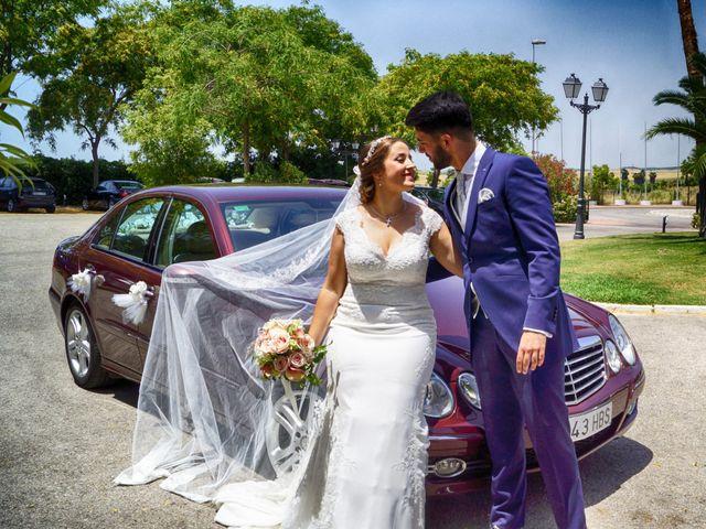 La boda de Samuel y Gloria en Jerez De La Frontera, Cádiz 35