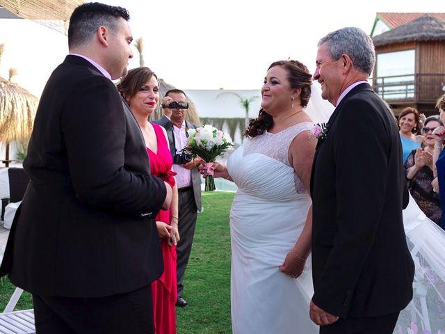 La boda de José y Rocío en Algeciras, Cádiz 45