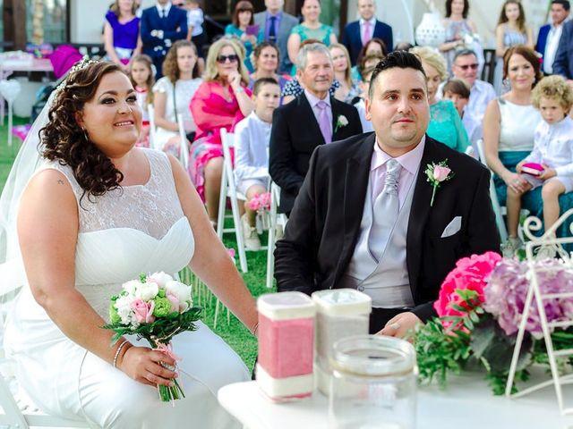 La boda de José y Rocío en Algeciras, Cádiz 1